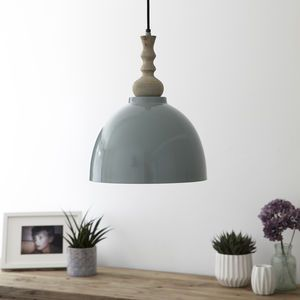 Blue Enamel Ceiling Pendant Light Decorative Lighting Is Becoming An Artform In Itself With