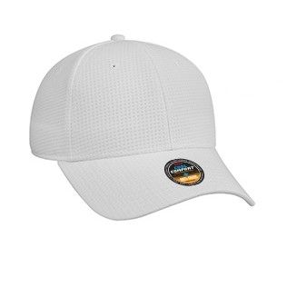 Cool Comfort Polyester Mini Waffle Mesh with Anti-Odor Sweatband Low Profile Pro Style Caps