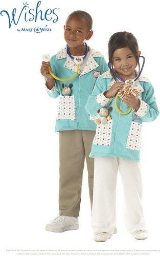 Toddler Girls Animal Friend Veterinarian Licensed Halloween Costume - cute childrens halloween costume ideas