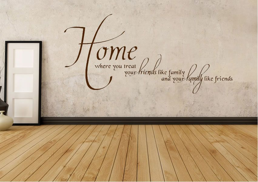 Quotes about home and family google search home quotes for Home decorations quotes