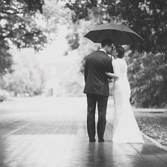 Real Weddings Rainy Wedding Photos Rain Wedding Rainy Wedding