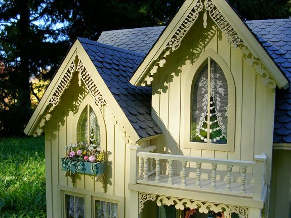 And Batten Siding Gothic Windows And Gables With