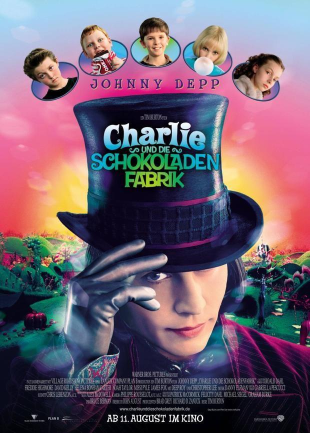 Charlie Und Die Schokoladenfabrik Die Stars Heute Johnny Depp Movies Chocolate Factory Good Movies