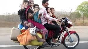 Home Quora Funny Motorcycle Indian Family Indian Motorbike