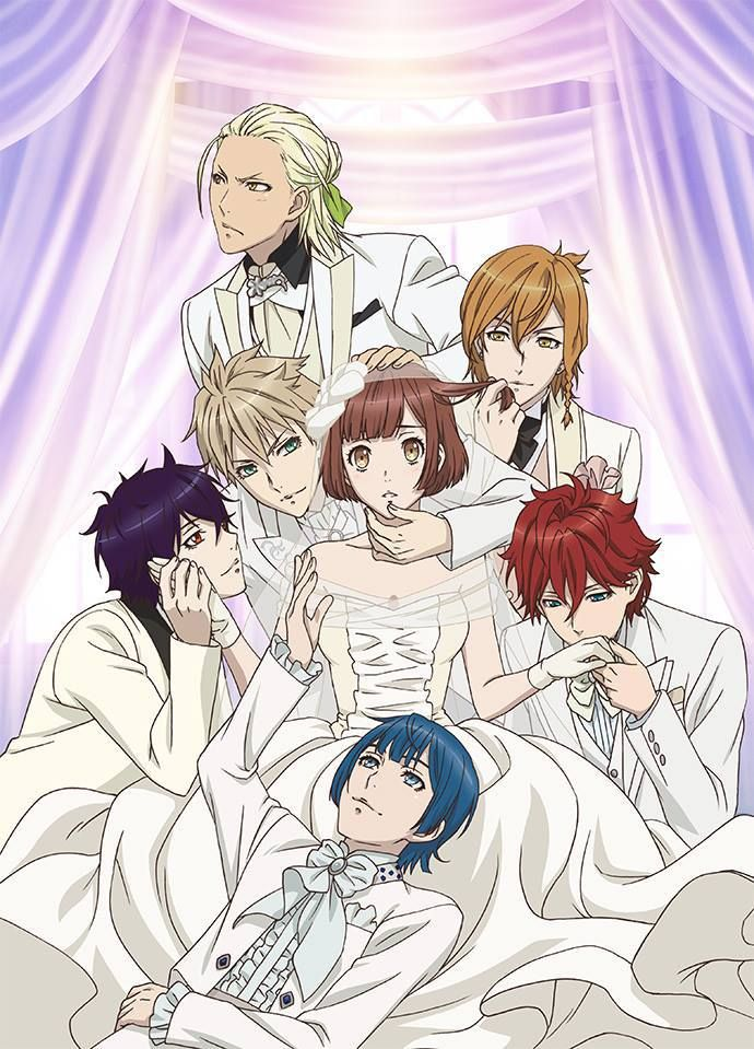 Dance with Devils Ritsuka x Shiki, Rem, Mage, Roen, Urie