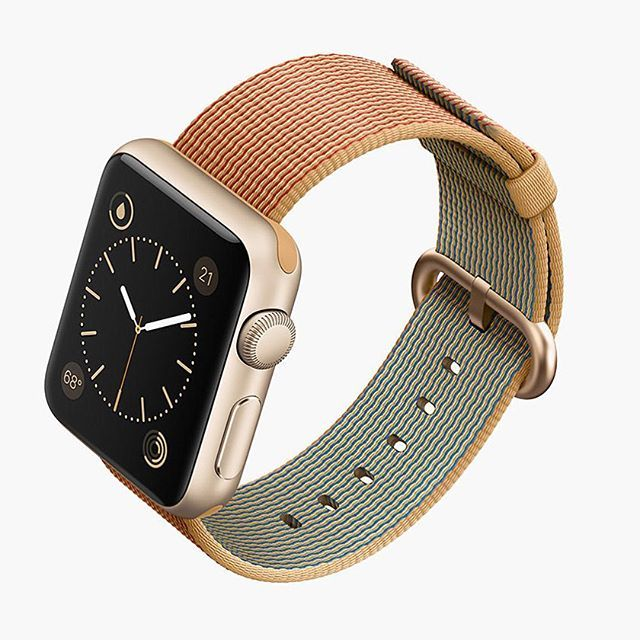 Apple have unveiled their new line of woven wristbands