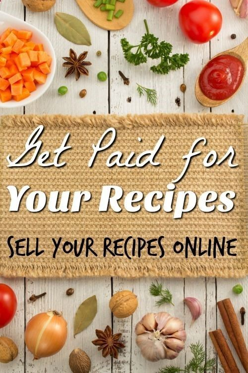 If you have a passion for cooking you get paid for your recipes. See these 6 places where you can get paid for selling recipes online.