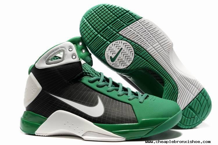 Nike Kobe Hyperdunk Olympic Power Green Black White 324820 122 Shoes For  Sale