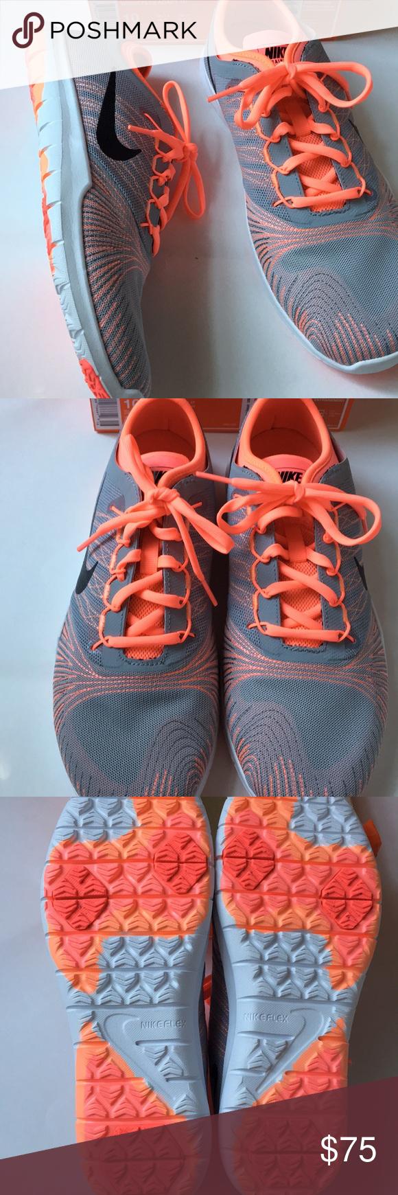 f43bdf5f96eb0c Women s flex adapt TR trainer Nike grey lava glow Women s flex adapt TR trainer  Nike grey lava glow sneaker show new in box (box missing lid) Color is more  ...