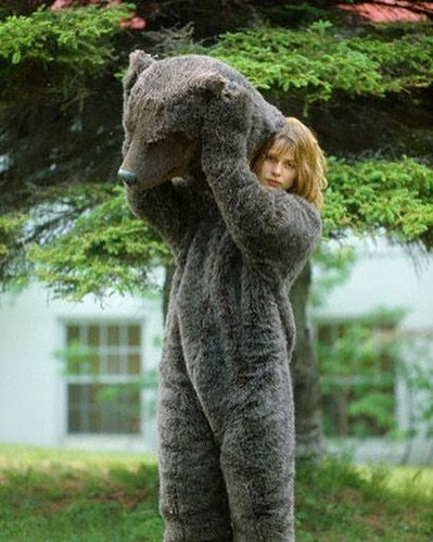Image result for the hotel new hampshire nastassja kinski bear suit
