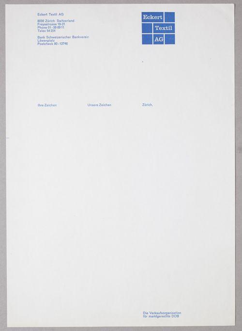 Huber  Branding    Company Letterhead Stationery