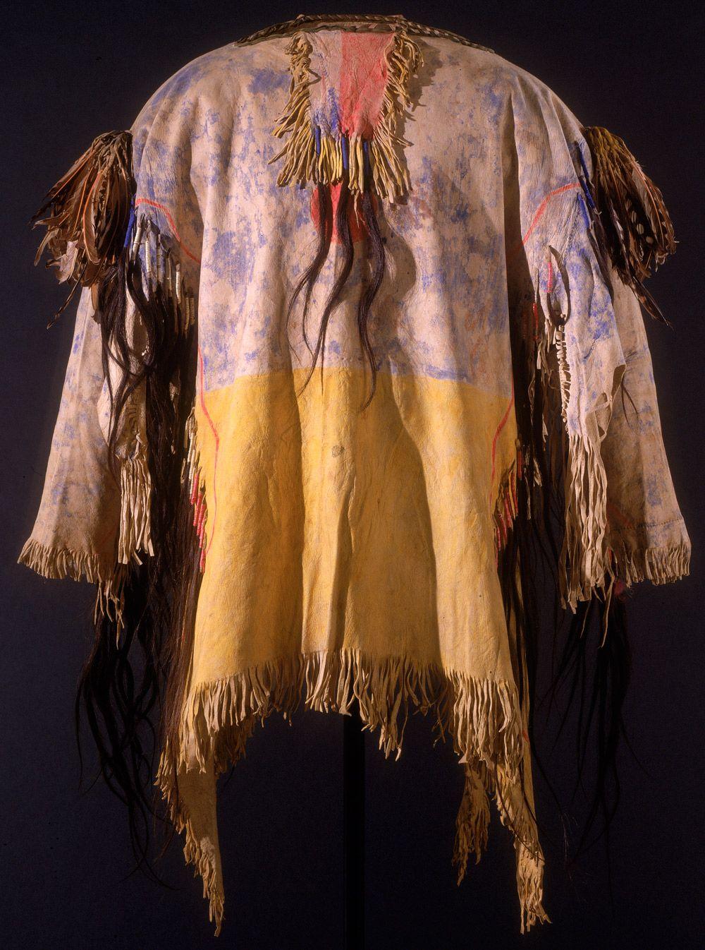 Shirt With Tashunca-uitco Crazy Horse Oglala