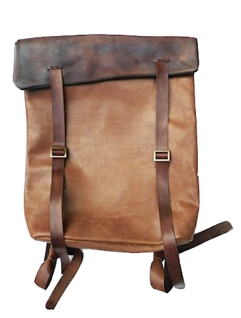 want a leather backpack