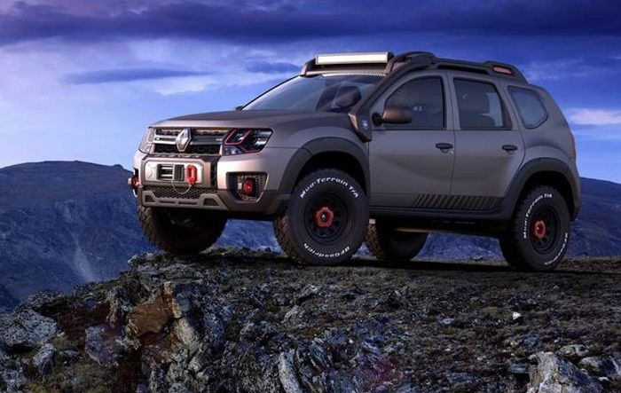 renault duster extreme off road concept revealed cars. Black Bedroom Furniture Sets. Home Design Ideas