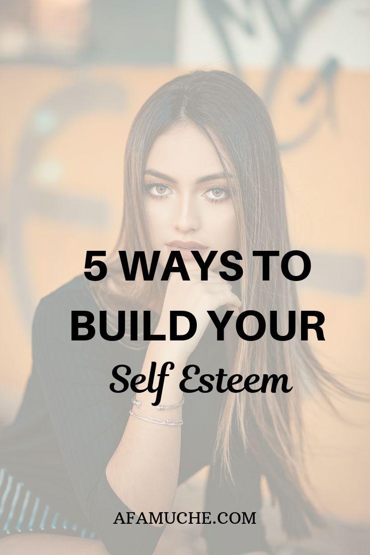 5 Ways to overcome feelings of low self-worth