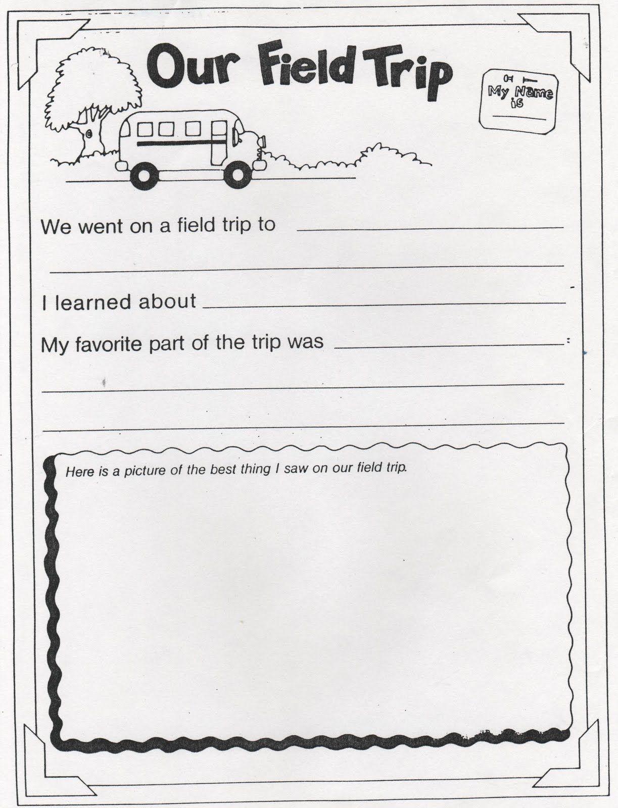 Elementary School Enrichment Activities Field Trip Memories