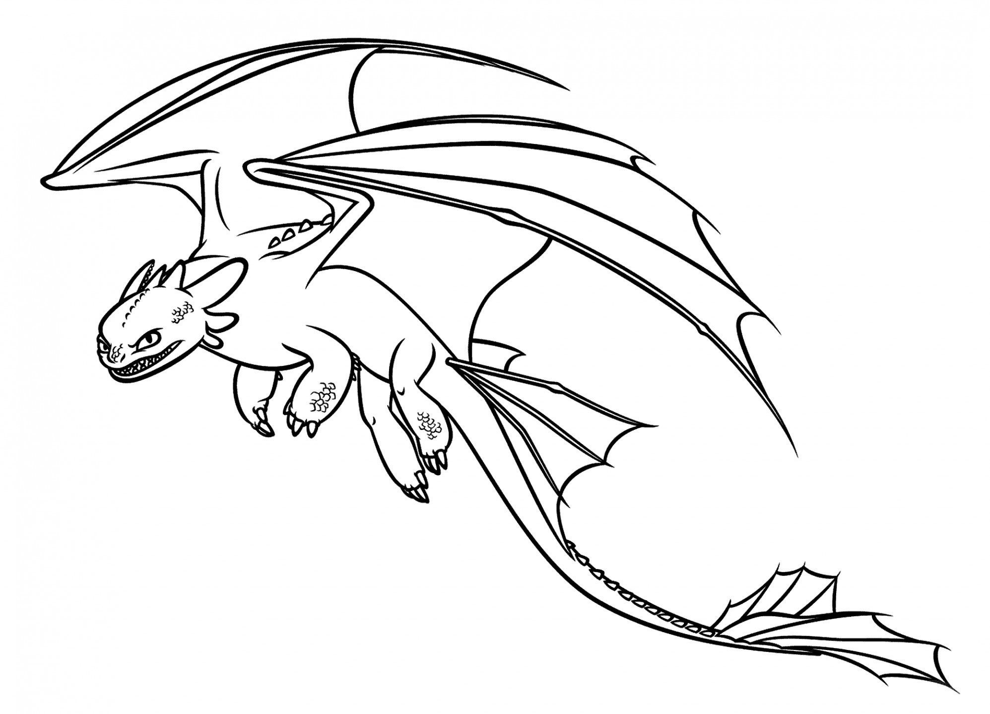 Free Dragon Coloring Pages Free How To Train Your Dragon Coloring