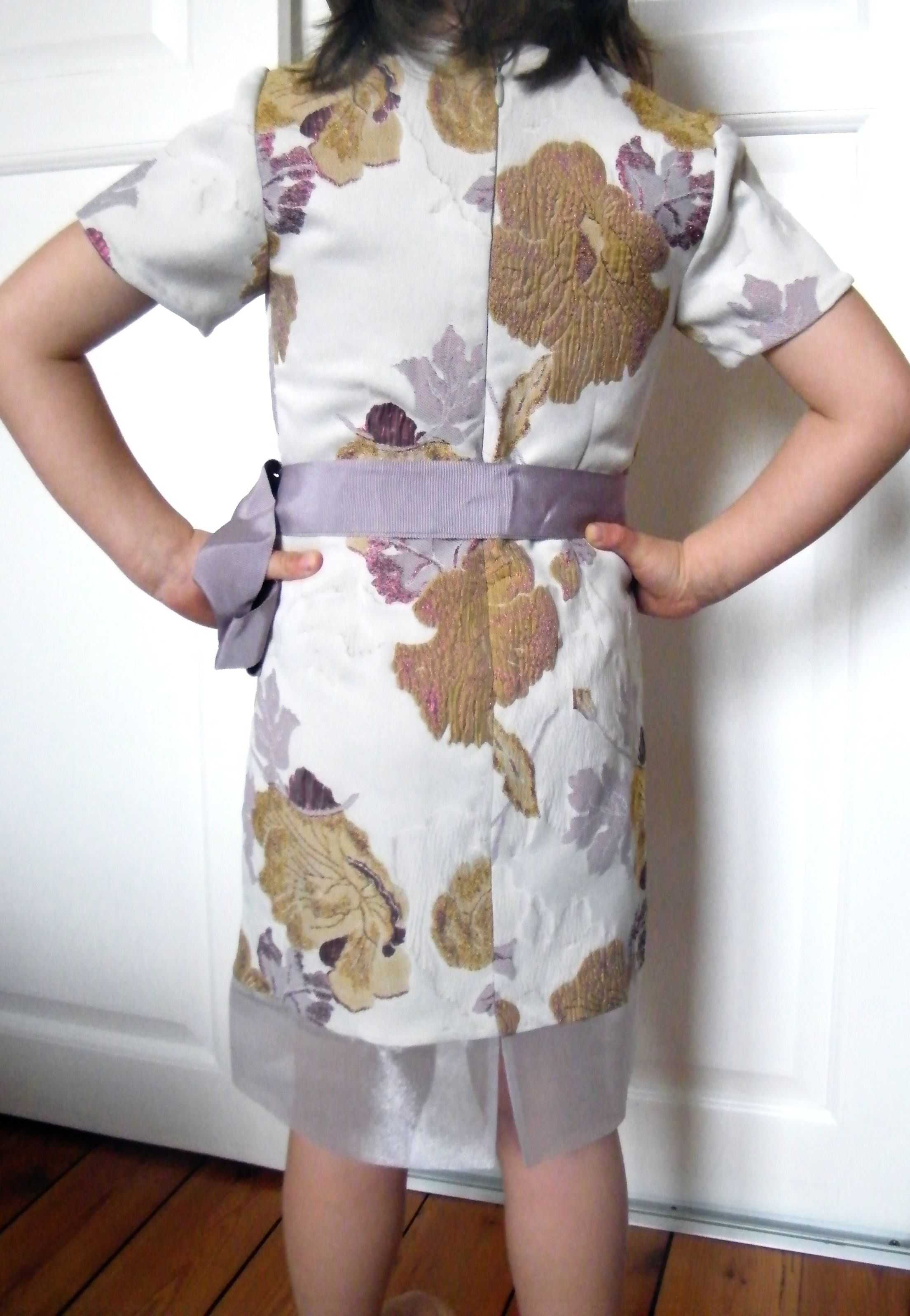 Adelaide silk dress, € 140