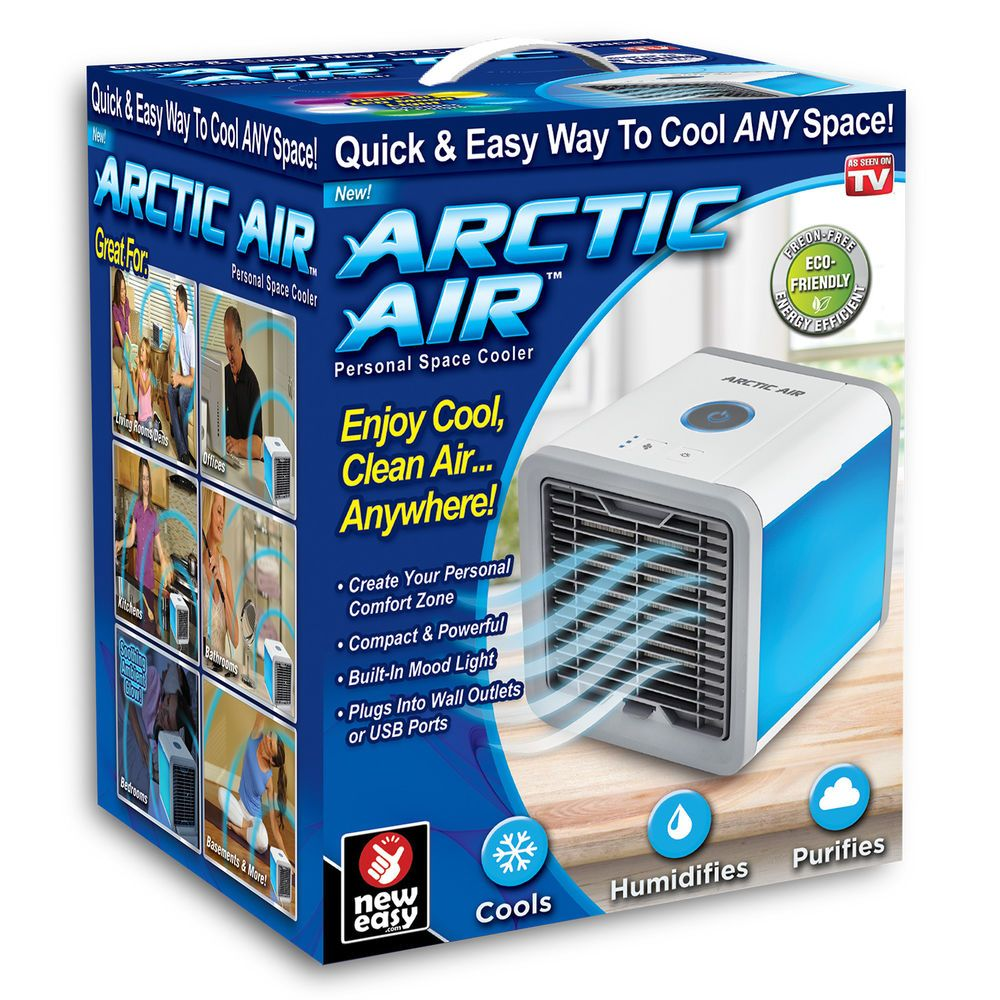Air Conditioner Portable Home & Car Cooler Cooling Fan Ice
