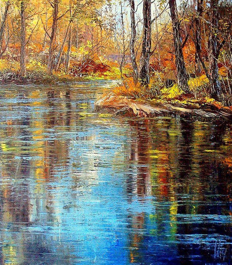 Pinturas De Paisajes Naturales Jose Orlando Lopez Molina Colombia Landscape Paintings Landscape Artwork