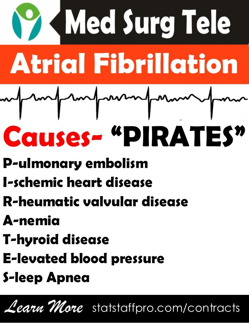 atrial fibrillation causes underlying afib pirates | clinical corner