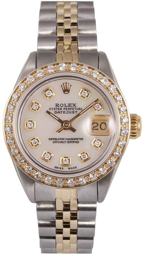 Lady Datejust 26mm Watch In 2019 Trs Gold Rolex Watches Luxury