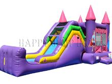 Fairy Princess Modular 4 1 Combo Bounce House Hopper Wet Or Dry Roo S Hopper Combos Jacksonvi Colchones Inflables Alquiler De Castillos Inflables Castillos