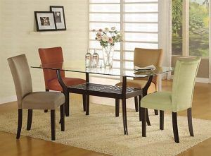 Dining Room Sets Gl Table Tops Kitchen Remarkable Top