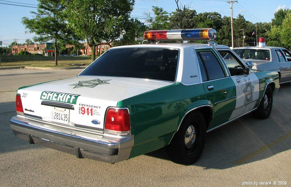 All sizes San Diego County CA Sheriff's Dept 1991 Ford
