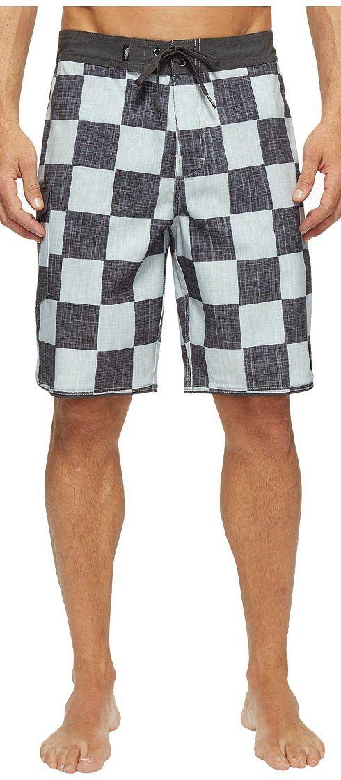 9cc66b81010 Vans Mixed Scallop Boardshorts (Checkerboard) Men s Swimwear - Vans ...