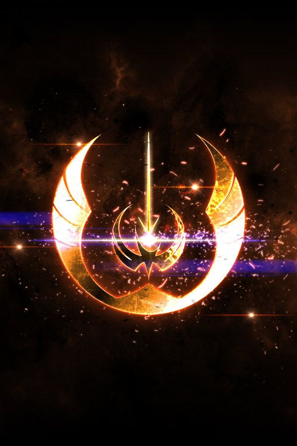 Custom Jedi Order Logo Star Wars Wallpaper Star Wars Artwork Star Wars Background