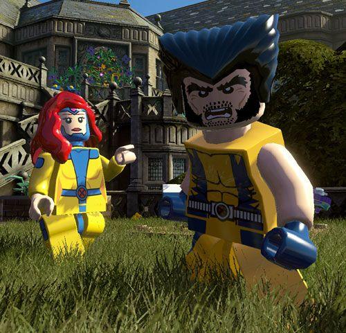 LEGO Jean Grey & Wolverine
