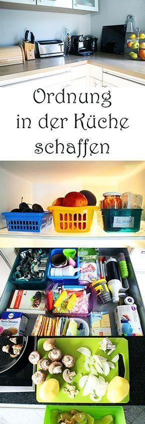 Ordnung in der Küche schaffen — Mama Kreativ