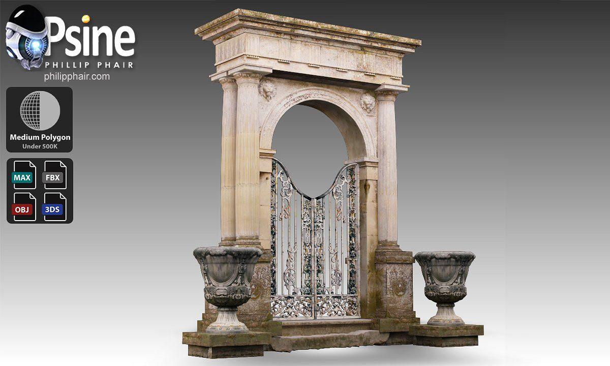 Classical Gate Gate Classical Cast Iron Gates