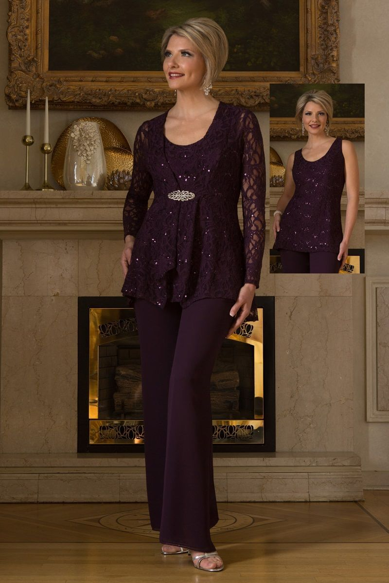 b63e9aec5bf1 Ursula 13239 Mother of the Bride Pantsuit | Clothes | Mother of the ...