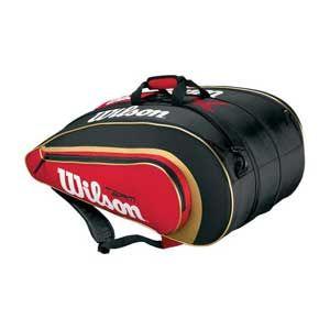 Wilson Blx Team Ii 6x Tennis Kit Bag Tennis Bags Expandable Bag Bags