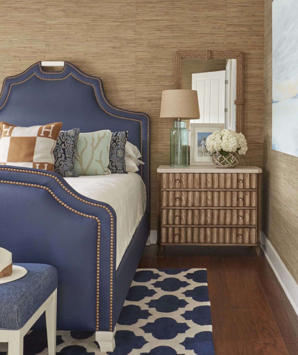 Coastal Bedroom Kristin Drohan Collection
