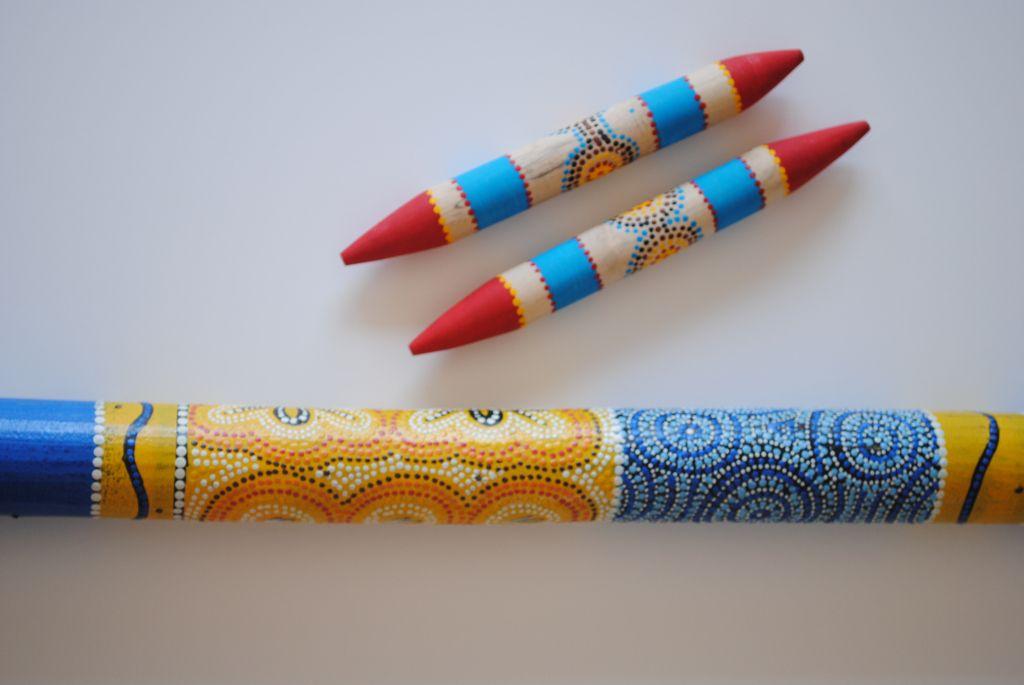 Make Your Own Bilma Australian Clapsticks Homemade Musical