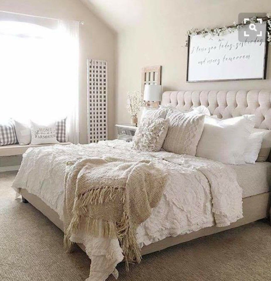 Master bedroom wall decor diy  OBSESSED  Home  Bedroom  Pinterest  Master room Bedrooms and
