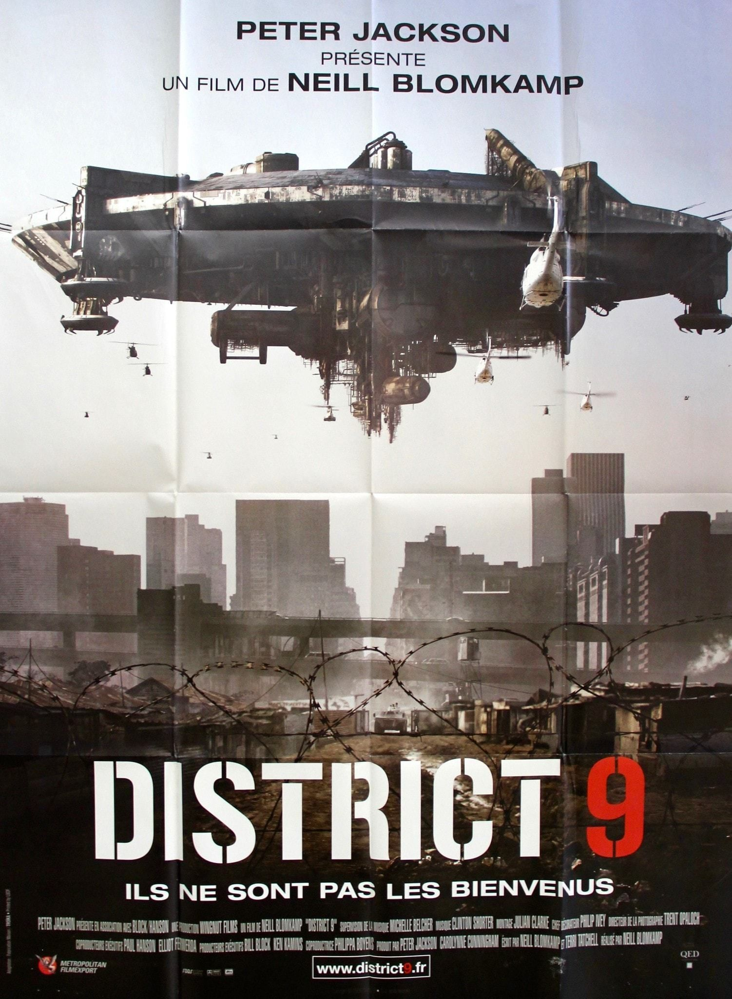 District 9 2009 Full Movies Movies Online Science Fiction Movie