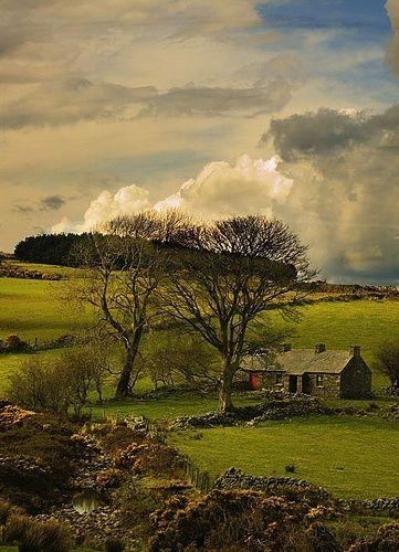 Ancient Stone House County Down Ireland By Nwelbaum Ireland Landscape Old Stone Houses Ireland