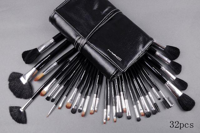Mac Cosmetics Brush Set 32 Piece [Brush_46] - $31.00 : , Free shipping over $200.