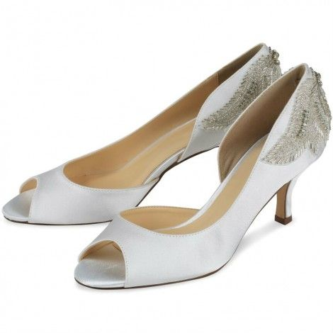I've just noticed these are now £20 cheaper at £49.99- Think they are being discontinued by Pink Paradox- if they were on your list grab them now! Finery by Pink for Paradox London Ivory Satin Hand Beaded Vintage Wedding or Occasion Shoes - SALE