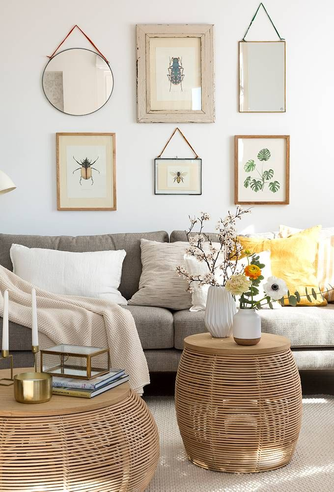 1 Sofá Entre 2 Butacas Decorar Paredes Salon Decoracion De Interiores Decoración De Unas