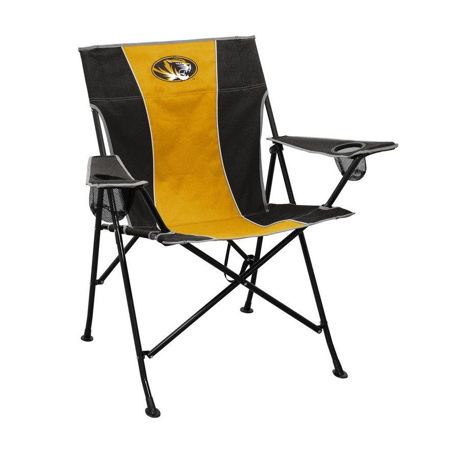 Missouri Tigers Pregame Foldable Chair Black In 2019