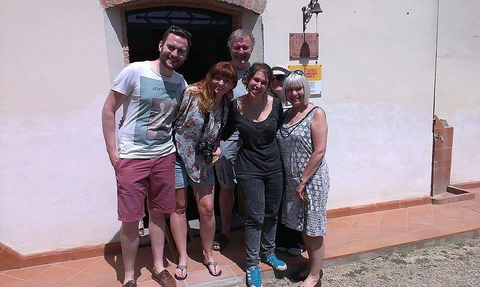 Per la prima degustazione tenuta da Ambra abbiamo avuto il piacere di ospitare questa bella famiglia! Da Londra con amore <3