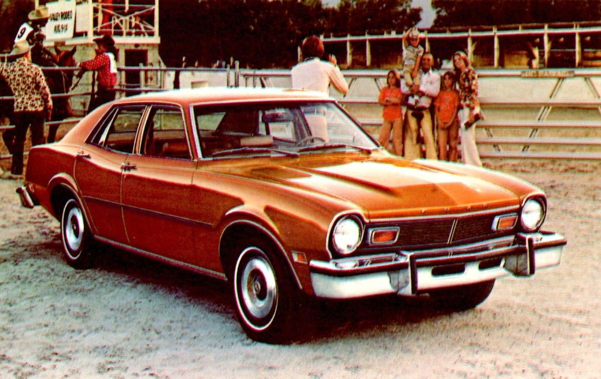 1975 Ford Maverick 4-Door Sedan