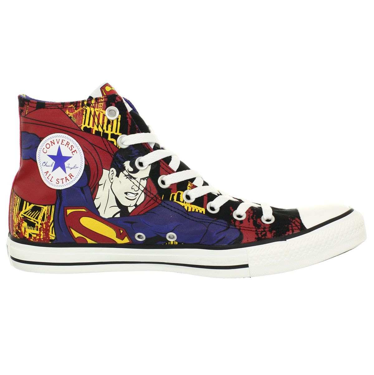 separation shoes 20157 2ba1a superman converse   Details about Converse CT HI Black  Royal Superman Shoes  US Mens Size .