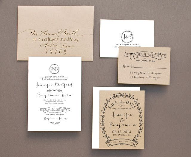 Introducing our newest invitation stamp collections