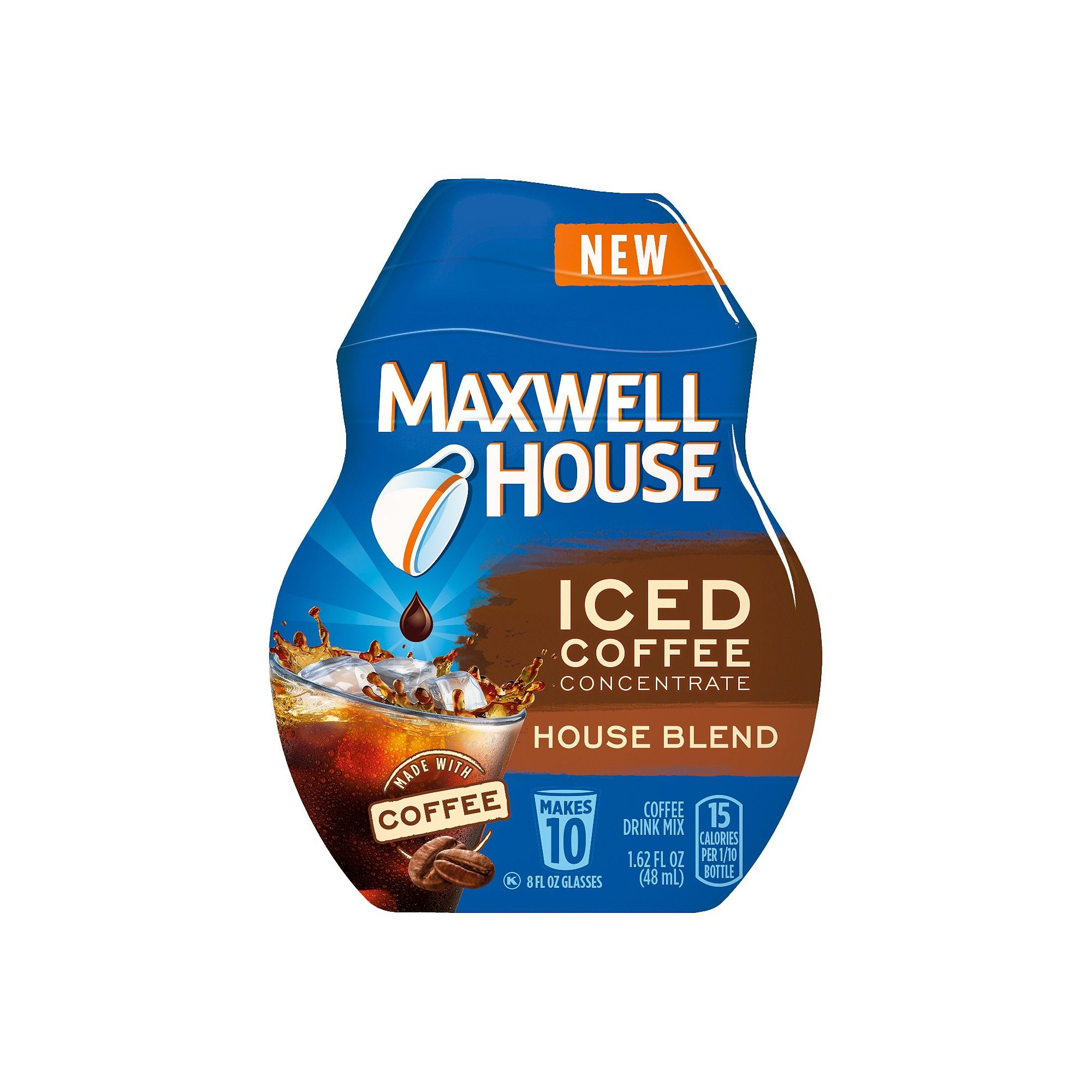 Maxwell House Iced Coffee Concentrate House Blend Beverage